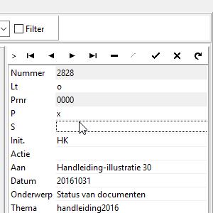 Status van documenten ( C-D-P-Z-etc) #44
