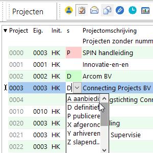 Status van projecten #16