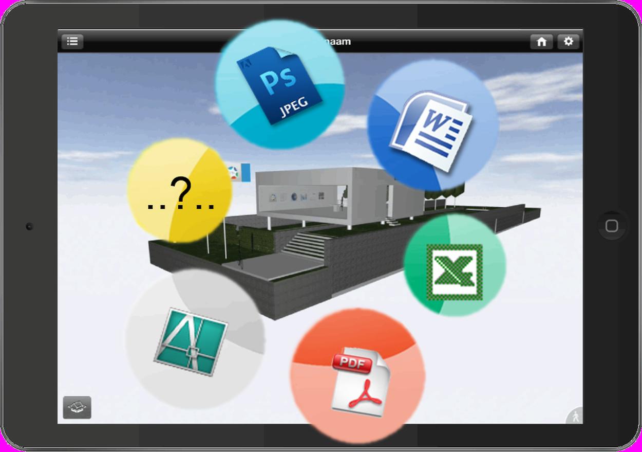 SPIN verbindt 3Dmodel met overige documenten